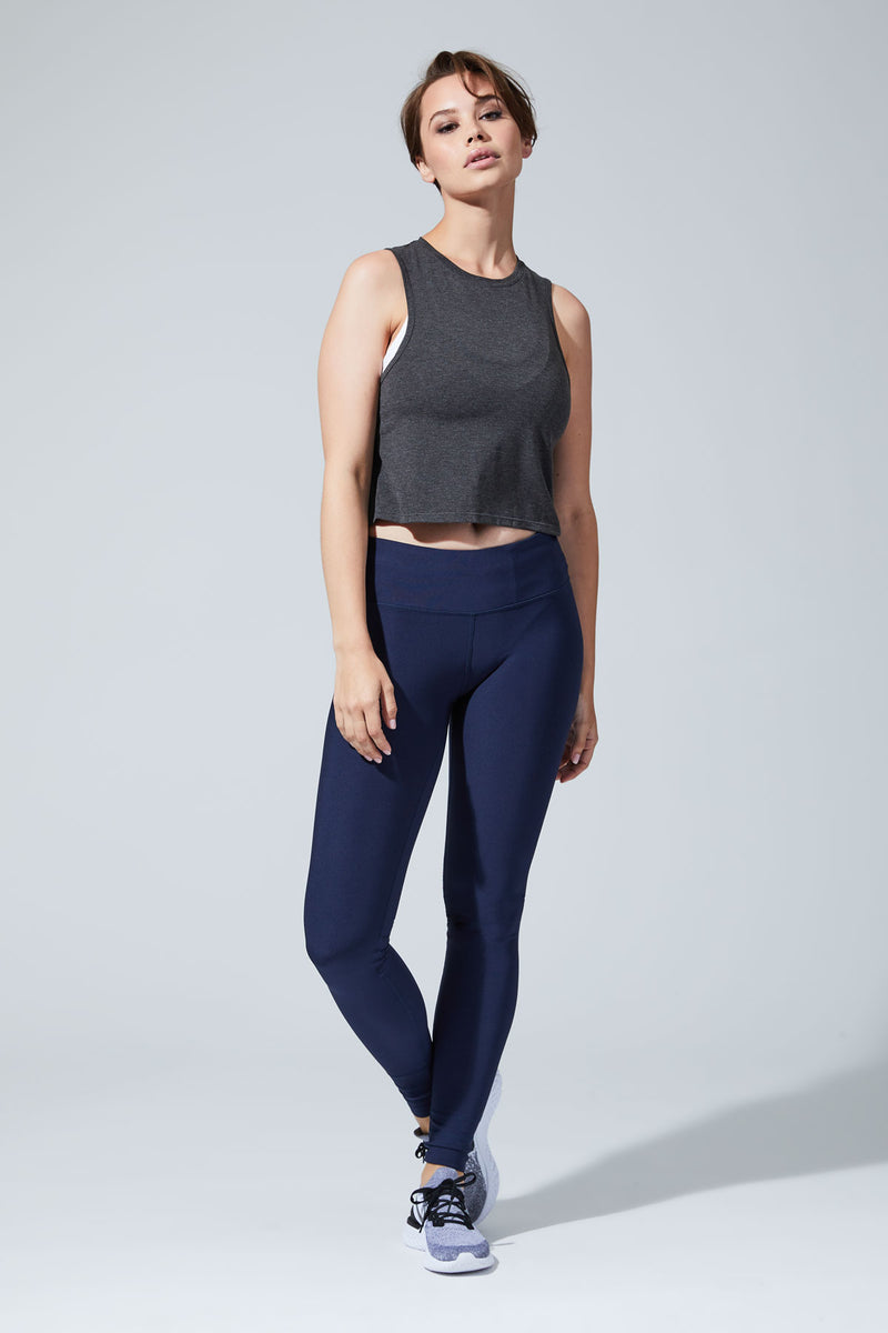 Revolve 2.0 Stink-Free Warrior Knit Cropped Tank