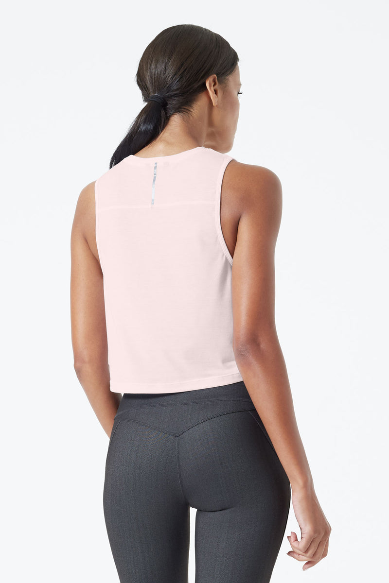 Revolve 2.0 Stink-Free Warrior Knit Cropped Tank - Sale