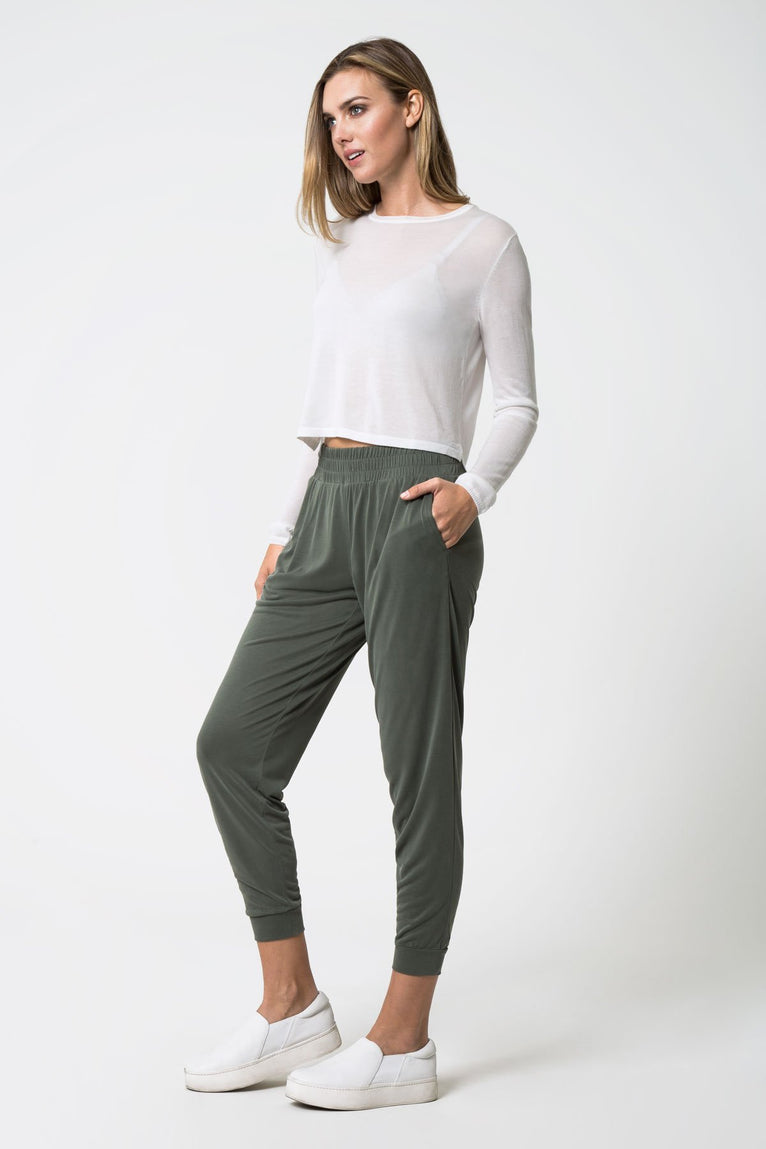 Radar Silk Blend Cropped Sweater