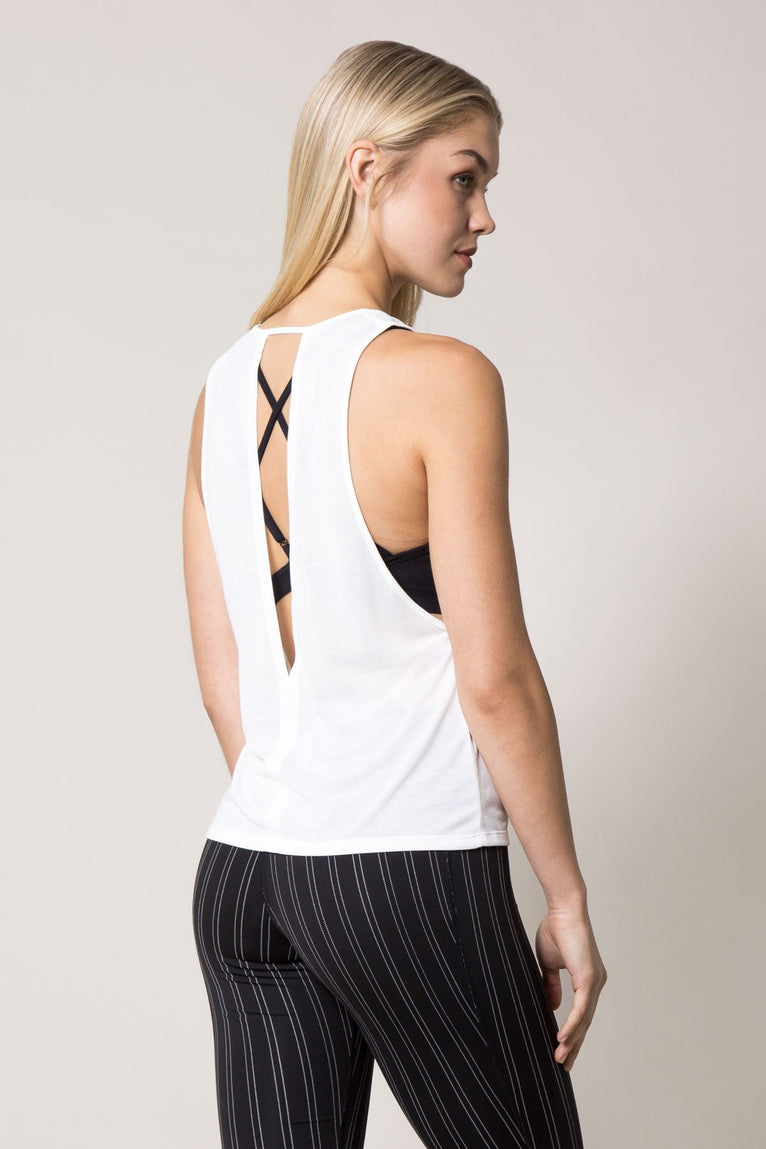 Haute Performance Silk Tank
