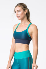 Lure Iridescent Ombre Light Support Bra