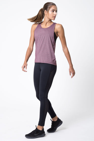 Empower Silver Thread Tank