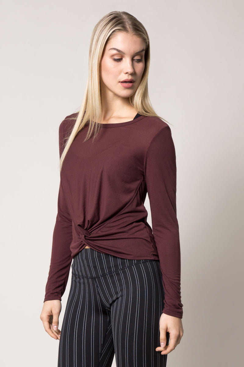 Twist Performance Silk Long Sleeve