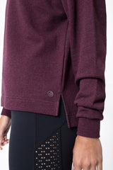 York Mock Neck Sweatshirt