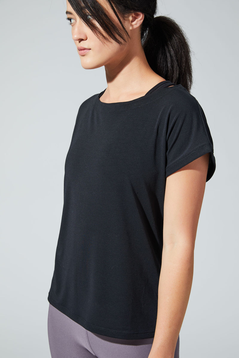 Essence Warrior Knit Oversized Tee