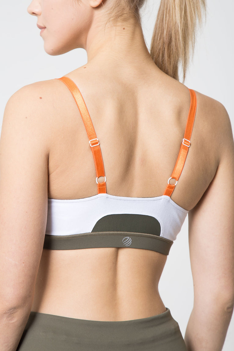 Fiesta Tri-Color Light Support Bra