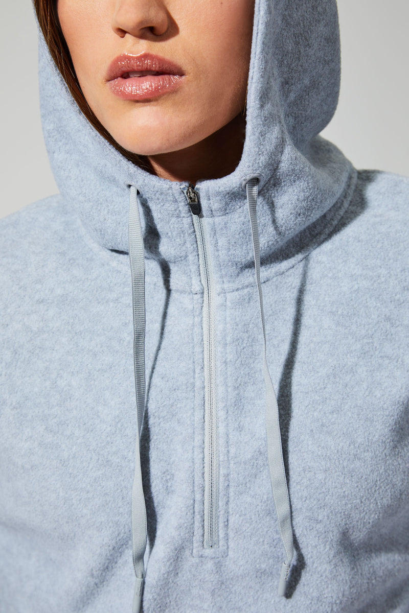 Chill Out Half Zip Pullover Hoodie
