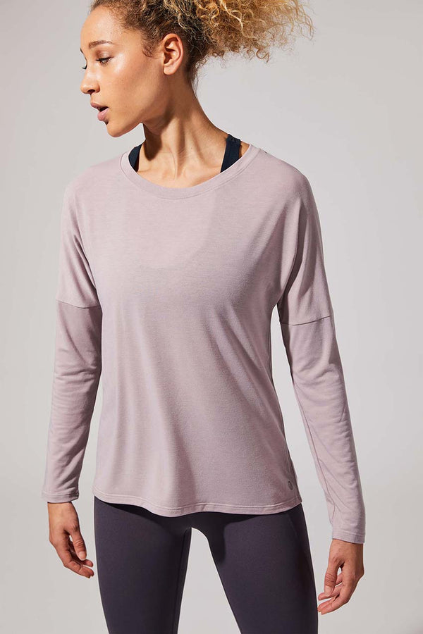 MPG Sport women's Liberate Recycled Polyester Top - Sale in Pink Cloud