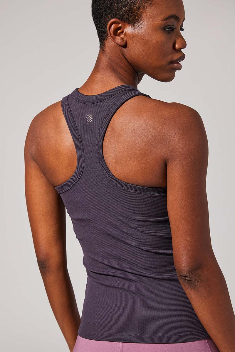 Renegade Recycled Polyester Ribbed Tank