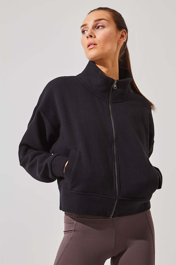 Strategy Organic Cotton Zip-Up