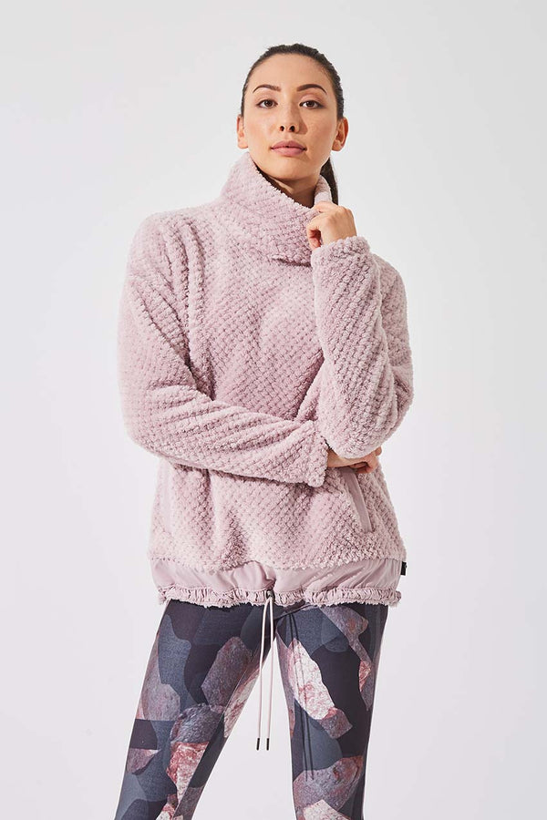 Devote Eyelash Fleece Pullover