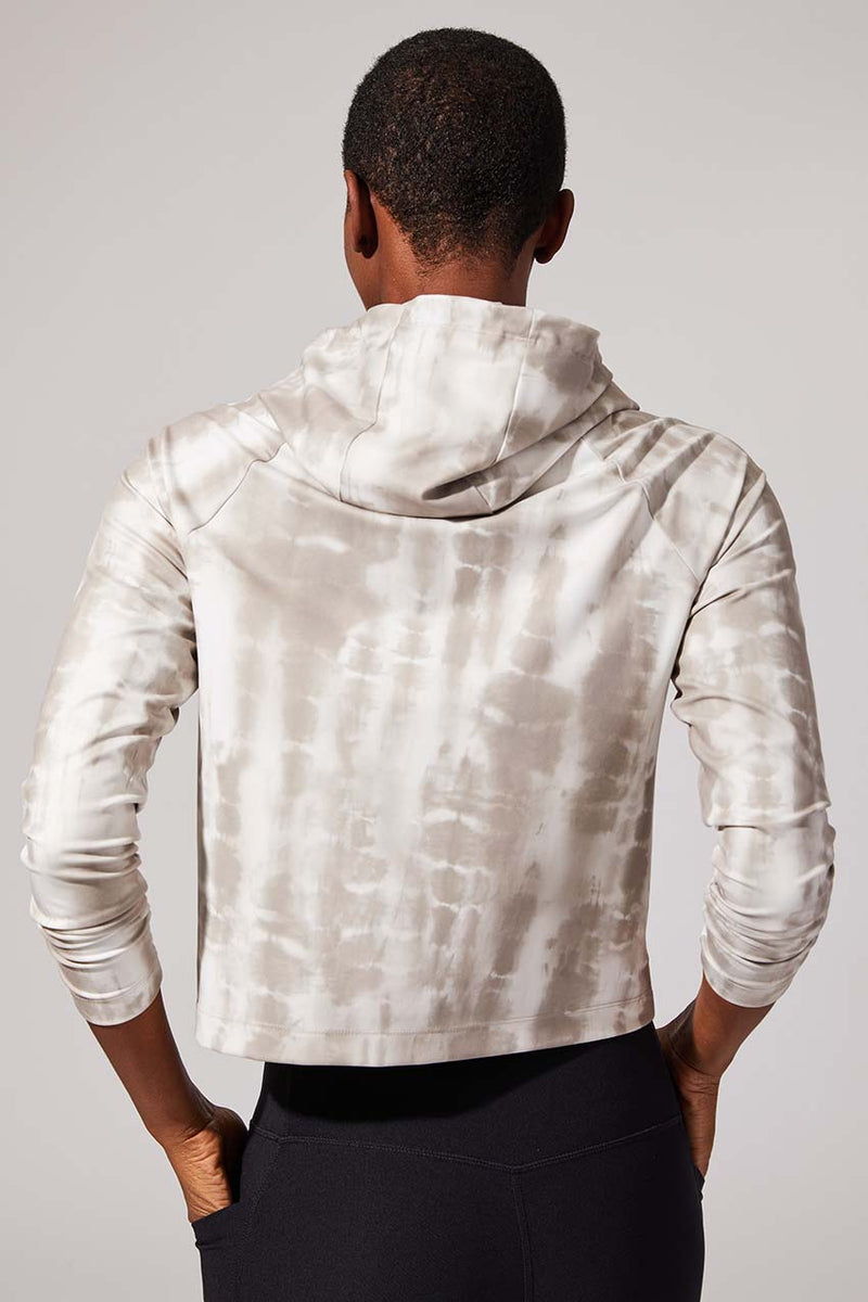 Swagger Recycled Polyester Cropped Hoodie