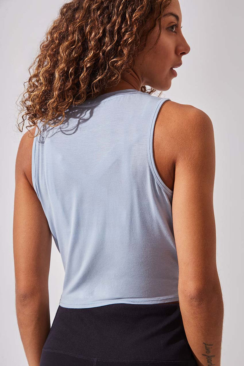 Riot Natural Modal Cropped Tank