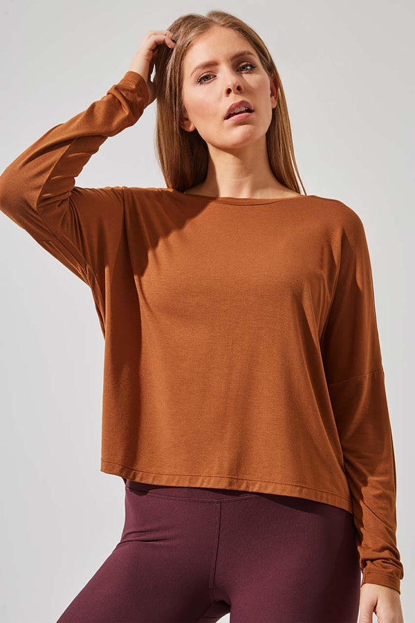 Dart Natural Modal Top