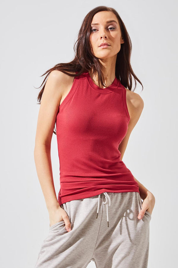 Elevate Natural Modal Micro Ribbed Tank