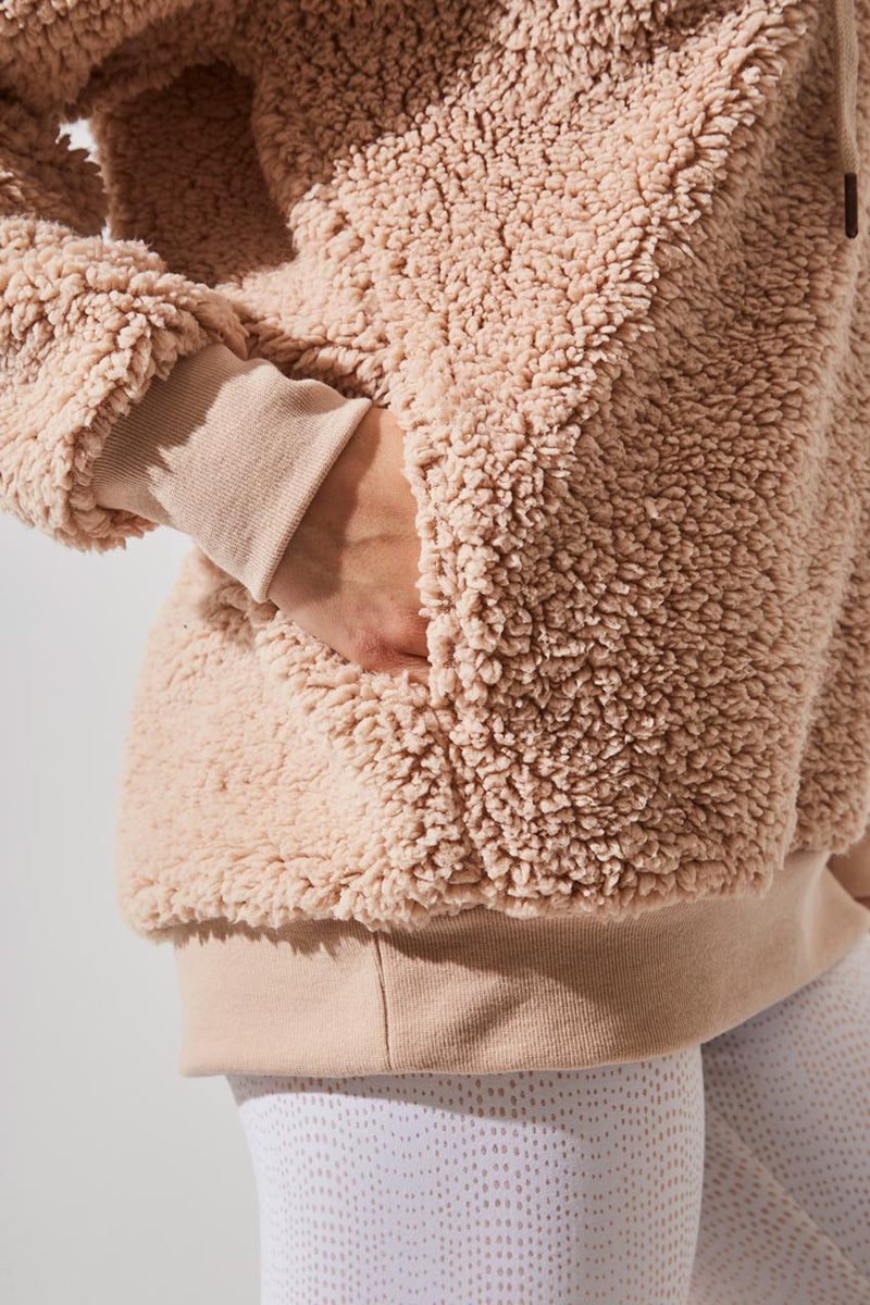 Stellar Berber Fleece Hooded Pullover