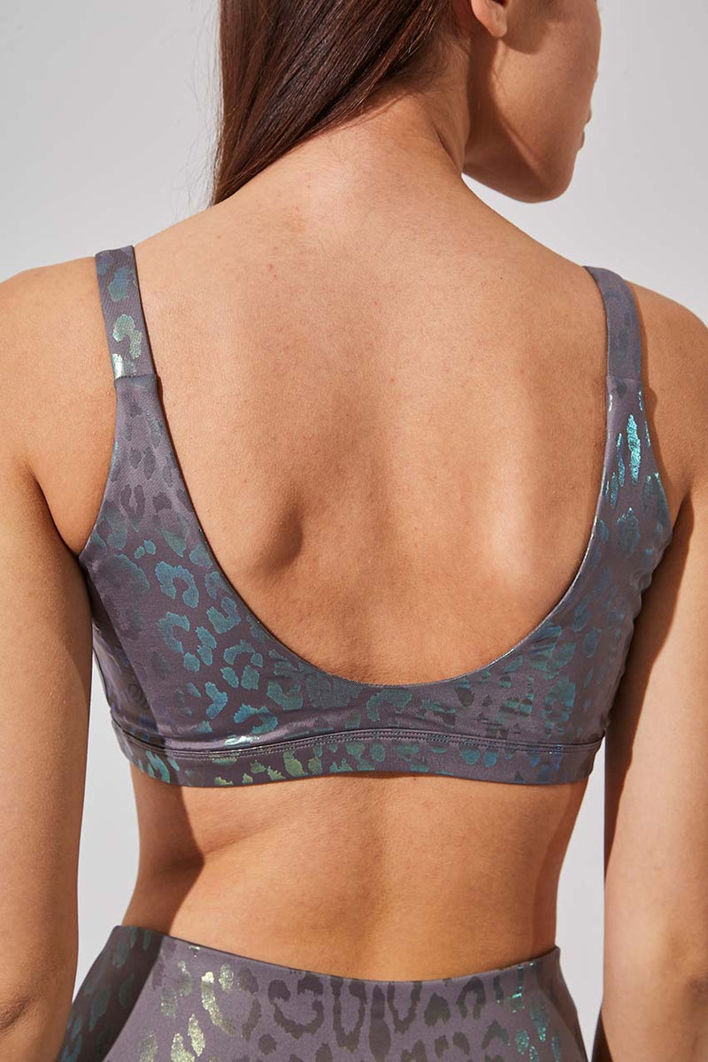Intuition Iridescent Cheetah Print Light Support Bra