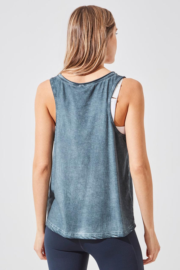 Flame Relaxed V-Neck Tank