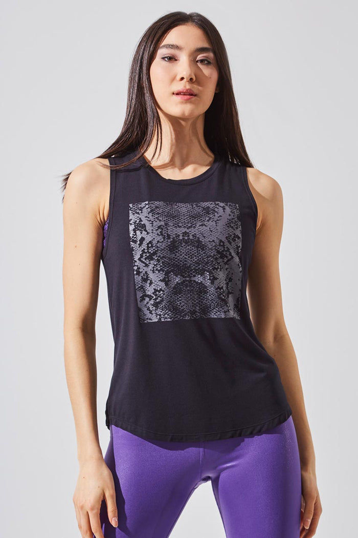 Enhance Tencel™ Modal Snake Print Tank