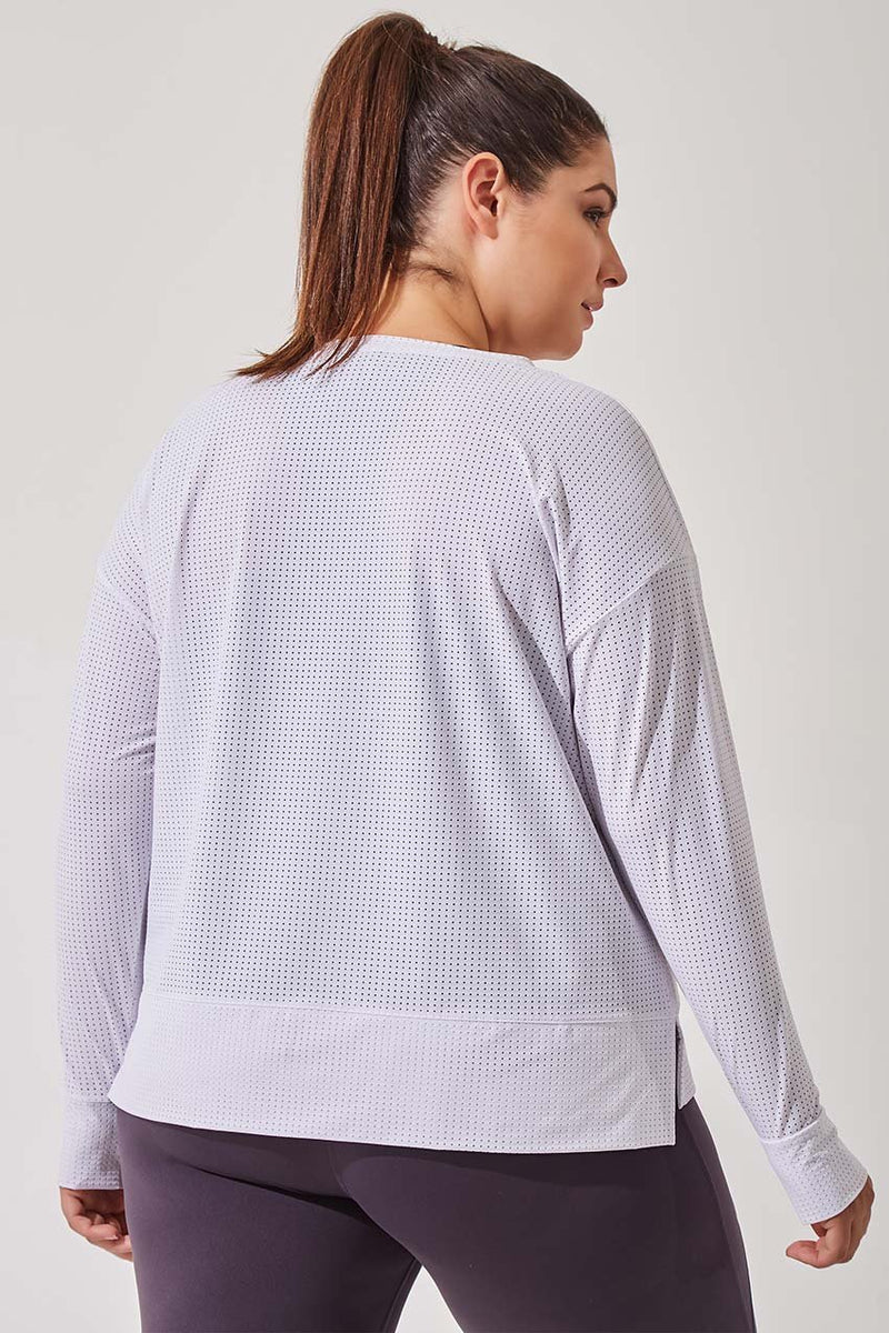 Intention Engineered Mesh Pullover