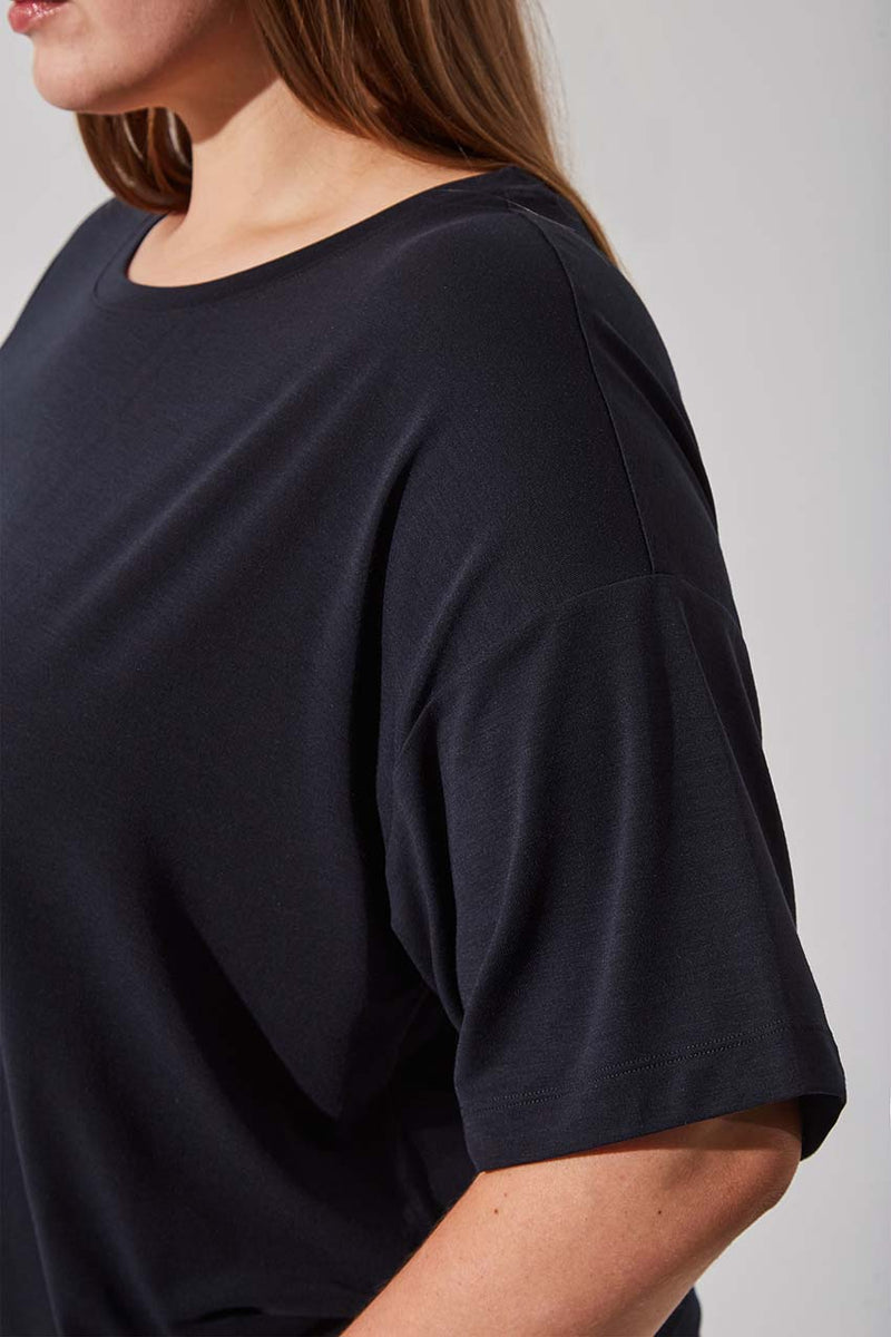 Ethos Recycled Polyester Oversized Tee
