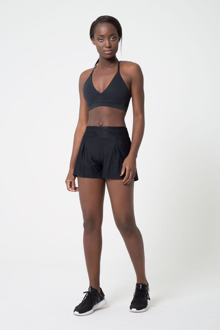 Effortless Perforated Short