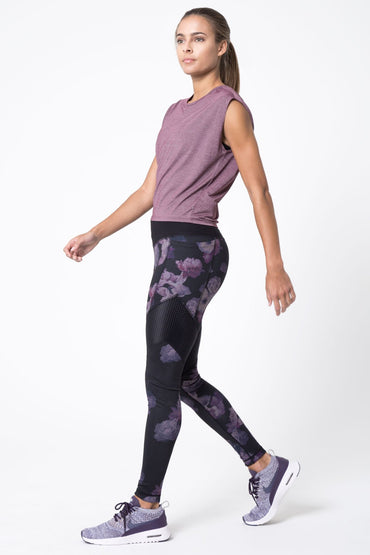 Frame 3.0 Floral Print High Waisted Legging