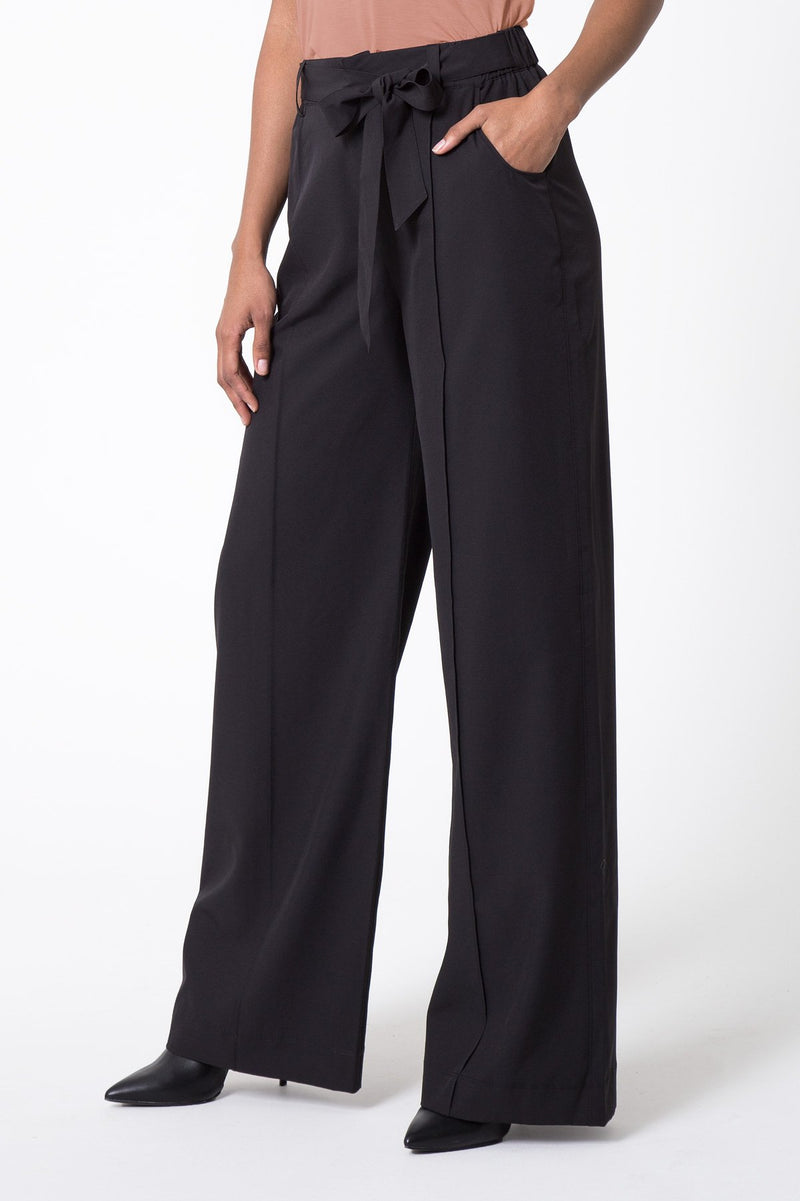 MPG Sport's clearance warehouse women's About Town Wide Leg Pant in Black