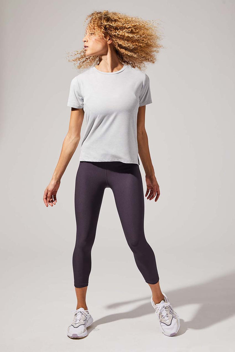 Dashing High Waisted Recycled Polyester Capri