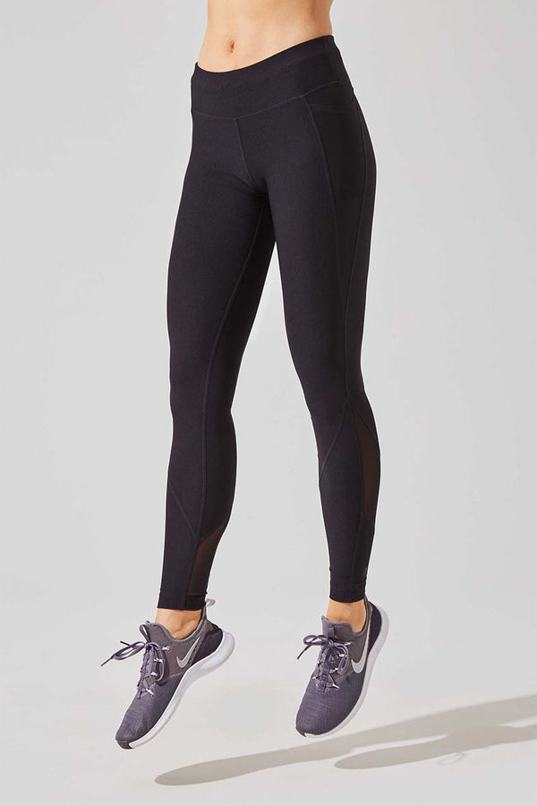 Rebounder Recycled Polyester Side Pocket Legging