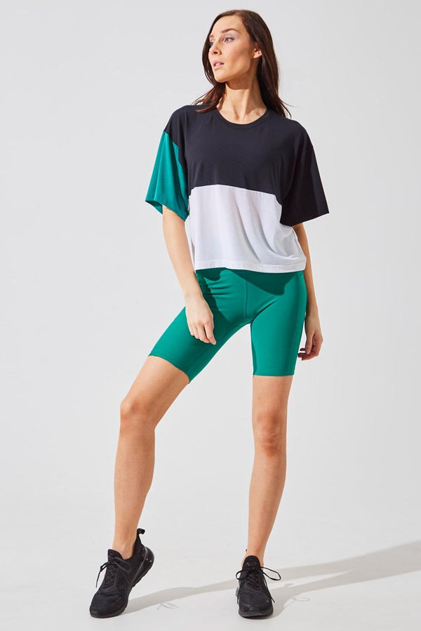 Brisk High Waisted Recycled Polyester Biker Short