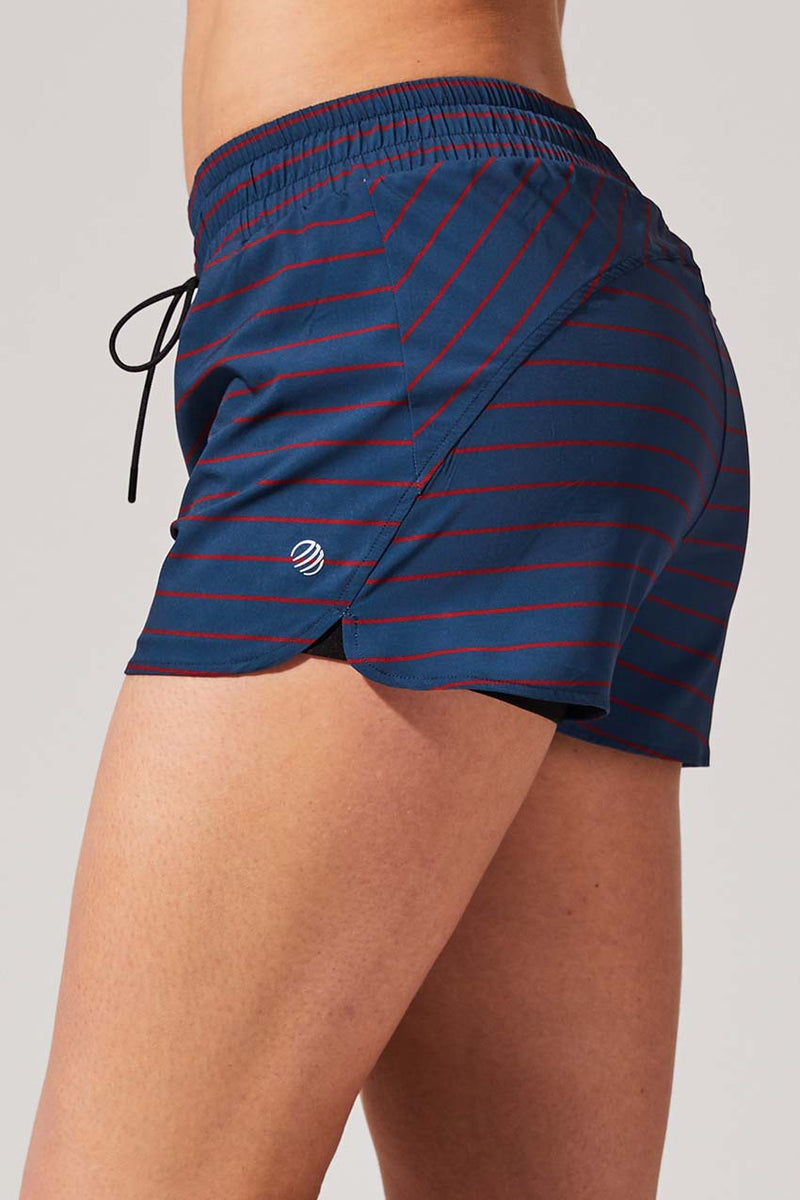 "Full Speed 2"" Recycled Polyester Short with Liner"