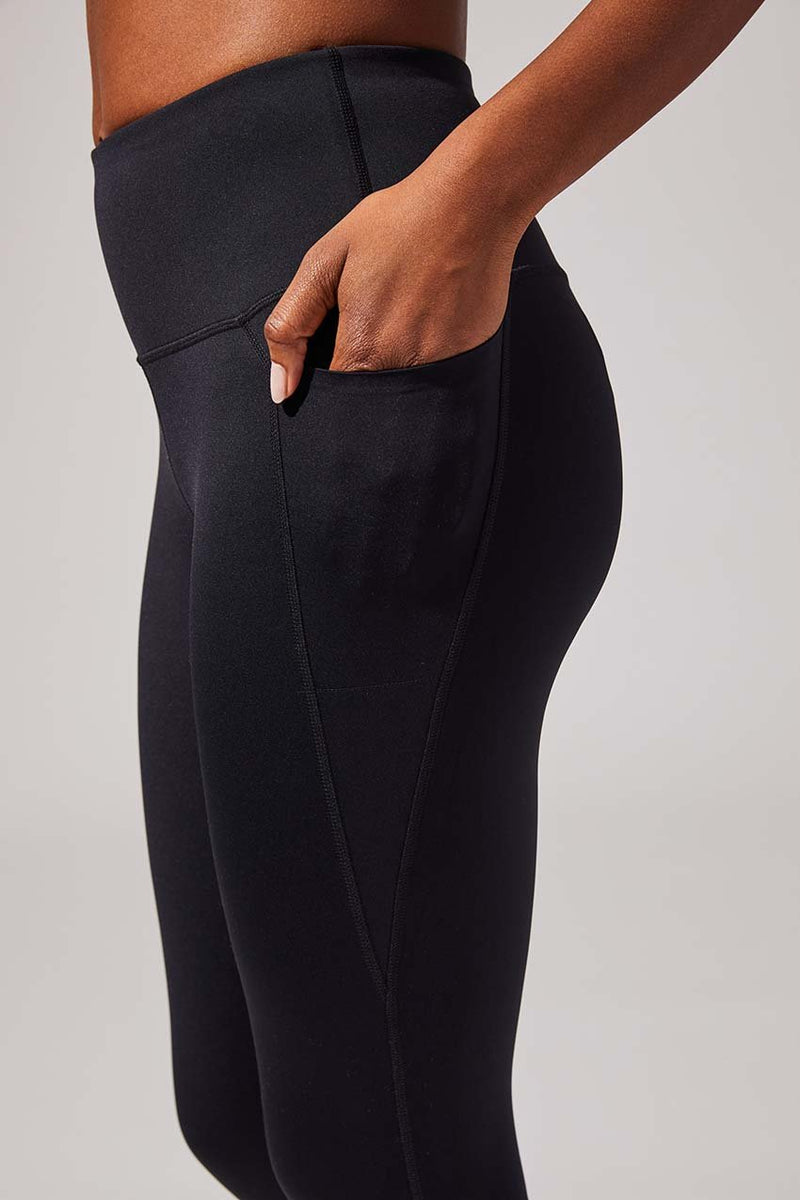 Prosper 7/8 High Waisted Recycled Nylon Legging