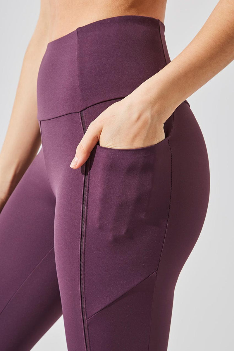Accelerate High Waisted Recycled Nylon 7/8 Legging