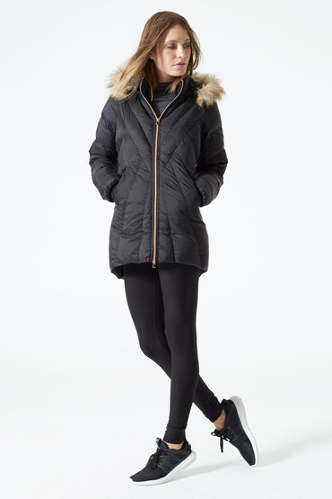 Britannia Down Filled Fur Trim Parka