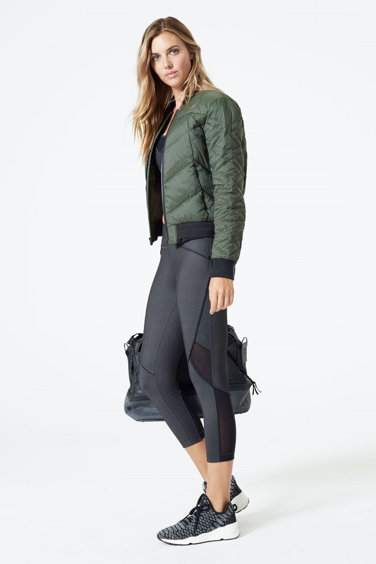 Mila Down Filled Bomber Jacket