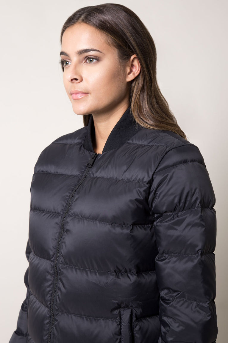 Intercollegiate Down Filled Bomber Jacket