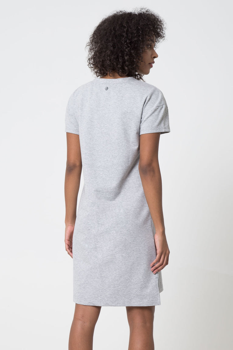 Landon Luxe Stretch T-Shirt Dress