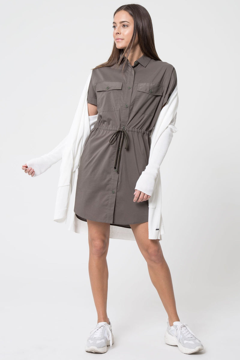 Renew Technical Cotton Cargo Dress