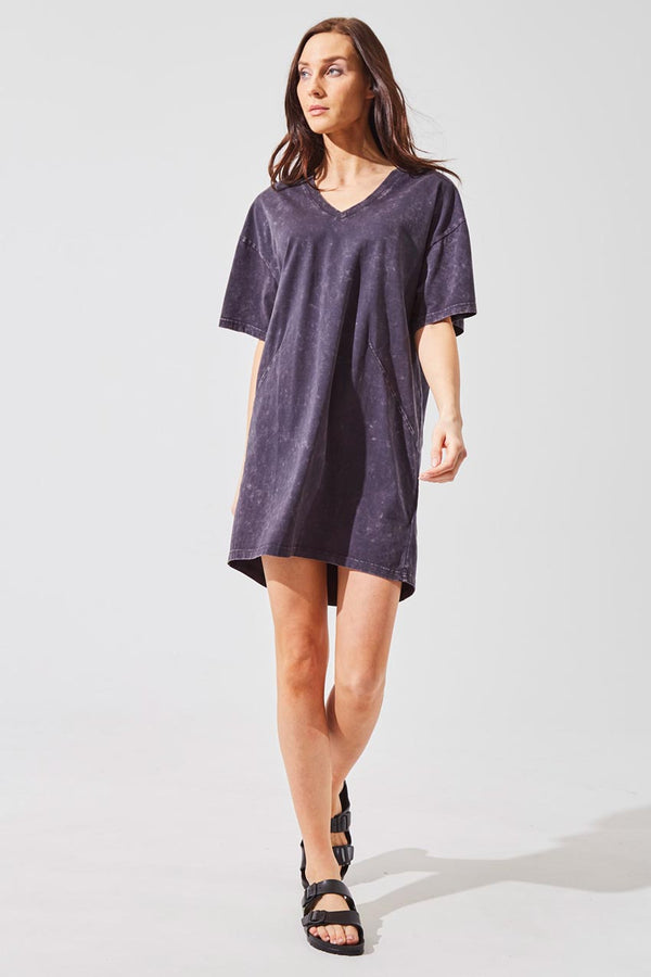 Splash Oversized T-Shirt Dress