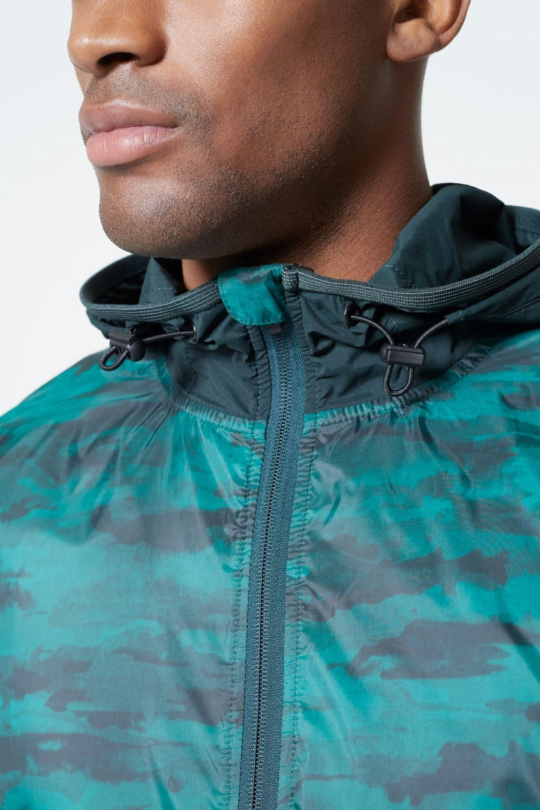 Discover Hooded Camo Jacket