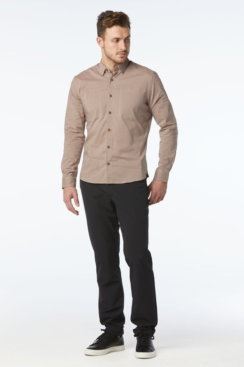 Oxford 2.0 Technical Cotton Dress Shirt