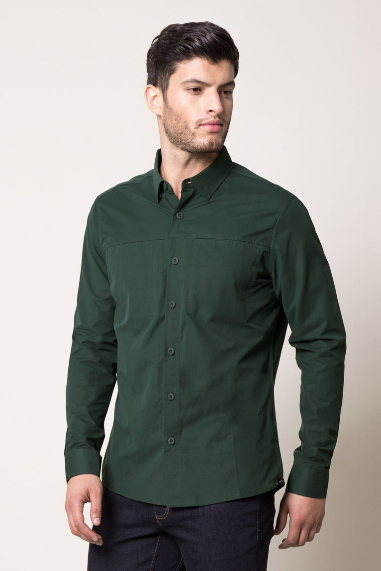 Oxford 3.0 Technical Cotton Dress Shirt