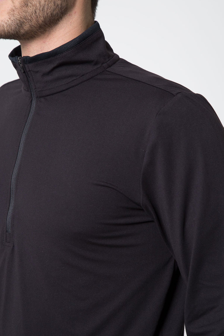 District Stink-Free Half-Zip Pullover