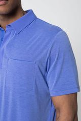 Detour Lyocell Blend Short Sleeve Polo