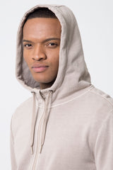 Hustle Pure Cotton Front Zip Hoodie