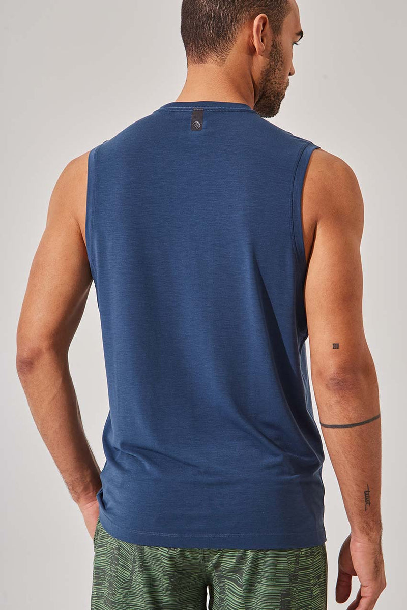 Flex Recycled Polyester Stink-Free Tank (Solar 2.0 Tank)