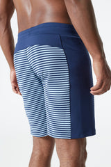 Fold Striped Yoga Short