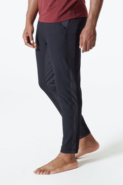 MPG Sport's clearance warehouse men's Crescent Yoga Pant in Black