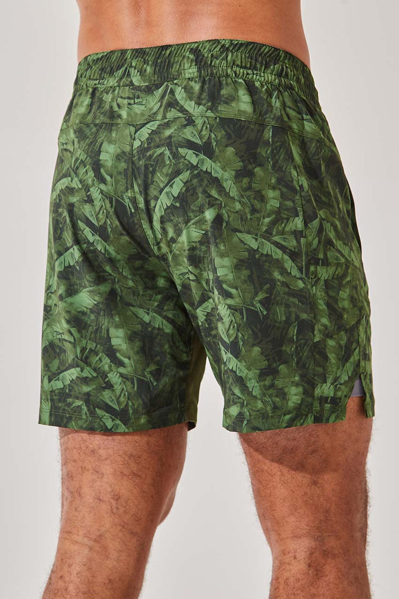 "Leeway 7"" Recycled Polyester Short with Liner (Hype 3.0 Short)"